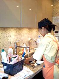 キッチンのお掃除ポイント1