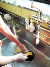 キッチンのお掃除ポイント2